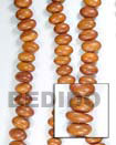 Bayong Oval Nuggets Wood Wood Beads