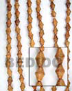 Bayong Double Cones Woodbeads Wood Beads